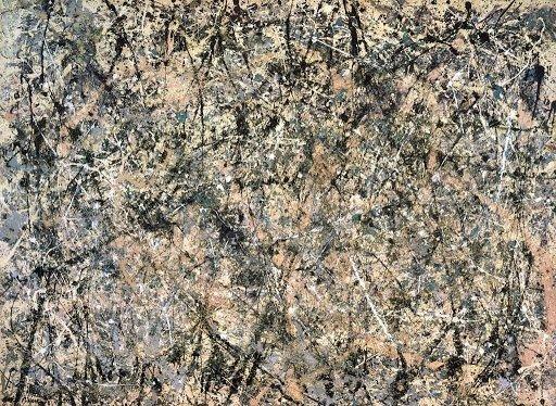 Jackson Pollock,'Lavender Mist'